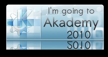 I'm going to Akademy 2010